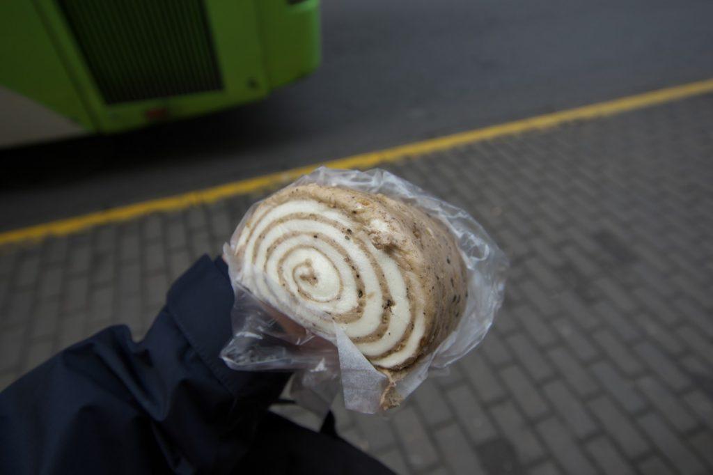 渦巻き蒸しパン