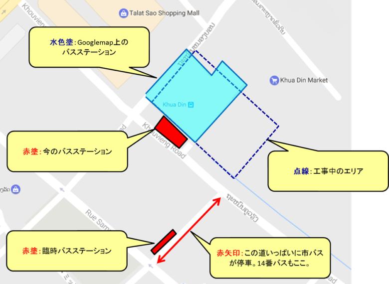 バスステーション位置