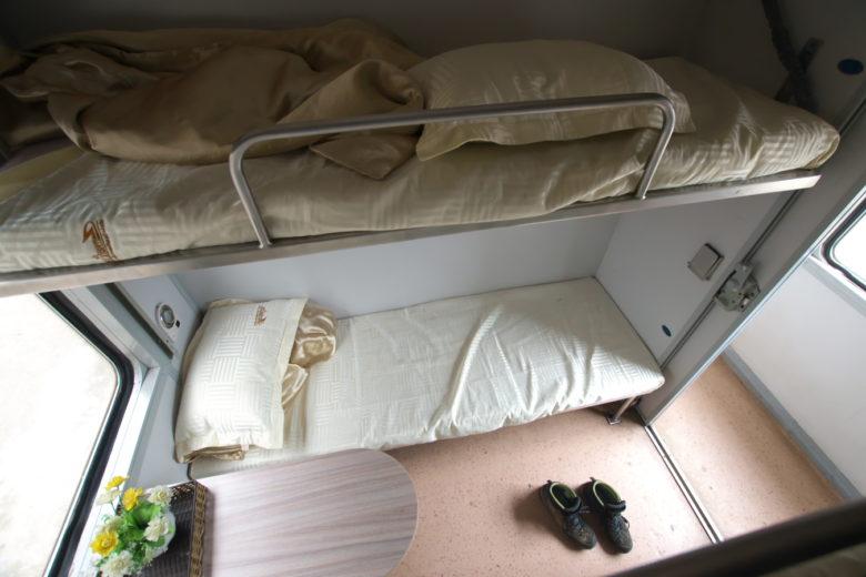 寝台車ソフトベッド