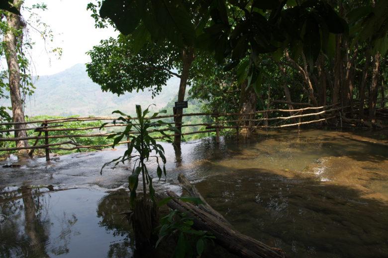 クアンシ―の滝の上
