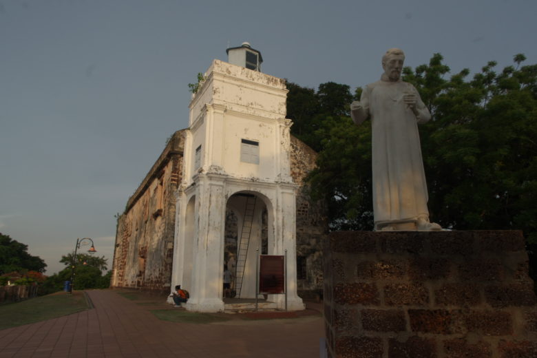 セントポール教会礼拝堂史跡