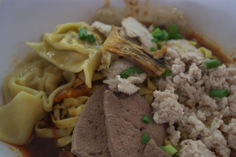 大華猪肉粿條面