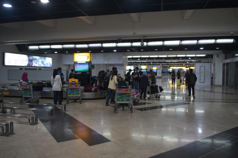 スカルノハッタ空港