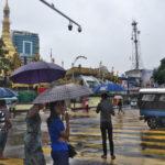 キンプンからヤンゴンへバス移動!(2017年7月11日)