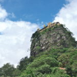 岩山のてっぺんに建物!ポッパ山を見に行った(2017年7月22日)