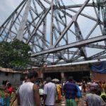 コルカタ観光!世界一美しいけど崩落の危機!?ハウラー橋を見た(2017年7月30日)