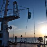 カザフスタンのアクタウからアゼルバイジャンのバクーへの長い船旅(2017年10月24日~27日)
