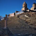 トビリシからカズベギへ。山の上の教会を見るのだ(2017年11月4日)