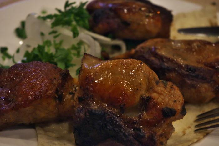 鶏むね肉のケバブ