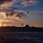 イスタンブールの定番世界遺産観光!夕焼けもゲッツ(2017年11月29日)