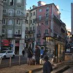 ポルトからリスボンに電車移動(2018年1月15日)