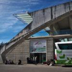 リスボンからセビーリャにバス移動(2018年1月18日)