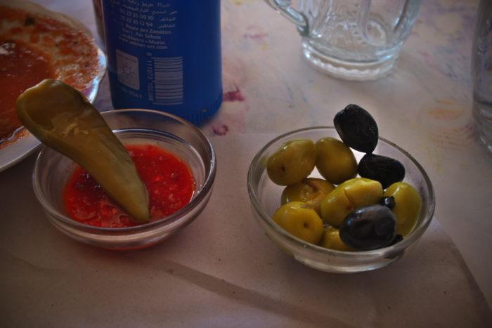 オリーブの塩漬け