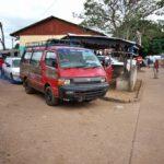 ギニアのヌゼレコーレからコートジボワールのダナネへ陸路国境越え情報