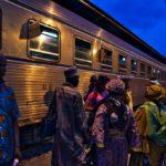 コートジボワール鉄道に乗ってディンボクロからアビジャンへ移動!(2018年4月25日)