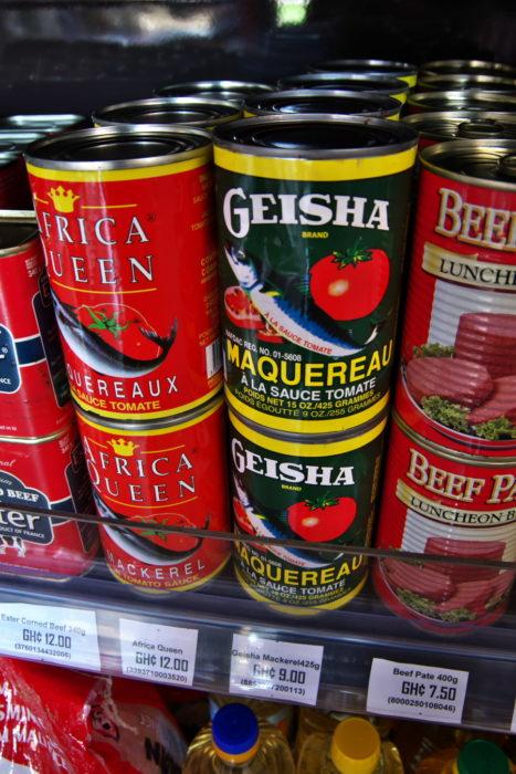 Geisha缶詰