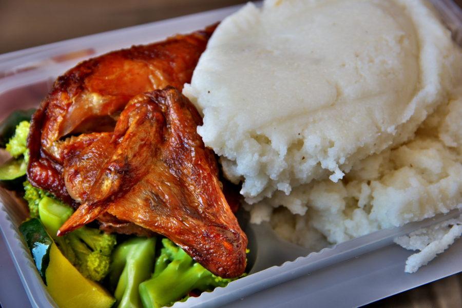 プァーパと鶏肉と野菜の煮物