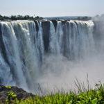 【ジンバブエ】ジンバブエ側から世界遺産ビクトリアフォールズを見るのだ(2018年9月15日)