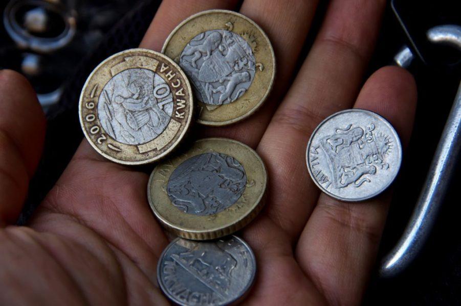 10クワチャ硬貨