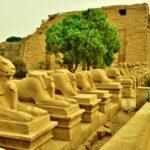 【エジプト】カルナック神殿を見に行く&夜は夜行列車へ(2018年12月25日)