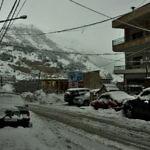 【レバノン】ベイルートからブシャリに移動!すごく…雪です(2019年1月16日)