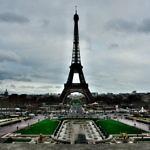 【フランス】パリのド定番!エッフェル塔と凱旋門をまわる!(2019年1月26日)