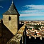 【フランス】世界遺産カルカッソンヌの城塞都市を見に行く!(2019年2月4日)
