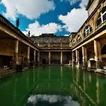 【イギリス】世界遺産バース市街観光。ローマ式大浴場跡がめちゃ面白い!(2019年3月17日)