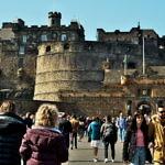 【イギリス】スコットランドのエディンバラ城を見に行った!人多い…(2019年4月19日)