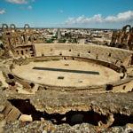 【チュニジア】世界第3の規模!エル・ジェムの円形闘技場を見に行く(2019年5月23日)