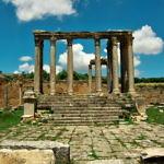 【チュニジア】世界遺産ドゥッガを見に行く!街の形が分かるほど残ってる…(2019年6月1日)
