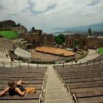 【イタリア】シチリア島タオルミーナのギリシア劇場を見に行った(2019年6月6日)