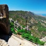 【キプロス】キレニアを見渡す山城「聖ヒラリオン城」に登って来た!(2019年7月21日)