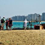 【キプロス】北キプロスのガジマグーサ行ってみた。ビーチと廃墟(2019年7月22日)