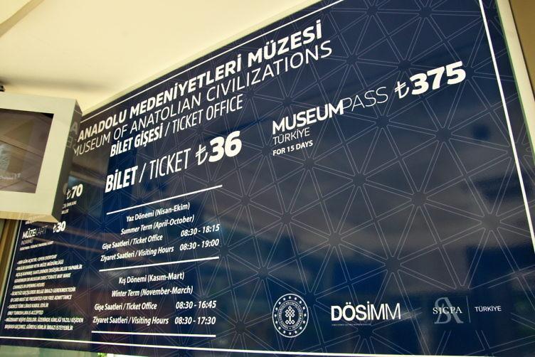 【トルコ】アンカラ観光2日目、アンカラ城とアナトリア文明博物館(2019年7月29日)