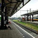 オランダのロッテルダムからドイツのブレーメンに鉄道移動。遅れすぎやろ…(2019年8月7日)